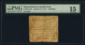 Colonial Notes:Massachusetts, Massachusetts October 16, 1778 4s PMG Choice Fine 15.. ...
