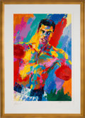 Boxing Collectibles:Memorabilia, 2001 Muhammad Ali Serigraph by LeRoy Neiman with Autographs from Each. ...