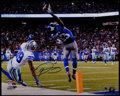 Football Collectibles:Photos, Odell Beckham Jr. Signed Oversized Photographs Lot of 2....