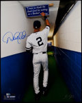 """Baseball Collectibles:Photos, Derek Jeter """"The Tunnel"""" Signed Oversized Photograph...."""