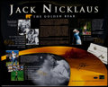 Golf Collectibles:Autographs, Jack Nicklaus Signed Oversized Photograph....