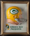 Football Collectibles:Others, 1965 Green Bay Packers Technigraph Display - In Original Packaging!...