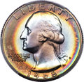 Washington Quarters, 1968-D 25C MS68 PCGS....