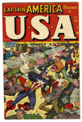 Golden Age (1938-1955):Superhero, USA Comics #15 (Timely, 1945) Condition: Apparent VG/FN....