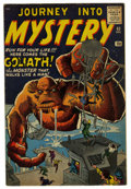 Silver Age (1956-1969):Horror, Journey Into Mystery #63 (Marvel, 1960) Condition: FN....
