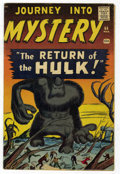 Silver Age (1956-1969):Horror, Journey Into Mystery #66 (Marvel, 1961) Condition: FN....
