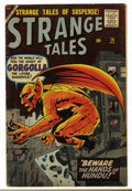 Silver Age (1956-1969):Horror, Strange Tales #74 (Marvel, 1960) Condition: VG+....