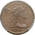 Large Cents, 1794 1C Head of 1795, S-67, B-59, R.3, MS64+ Brown PCGS....