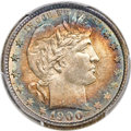 Barber Quarters, 1900-O 25C MS67 PCGS. CAC....