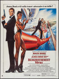 "Movie Posters:James Bond, A View to a Kill (United Artists, 1985). French Grande (47"" X 63"").James Bond.. ..."
