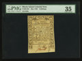 Colonial Notes:Rhode Island, Rhode Island May 1786 3s PMG Choice Very Fine 35.. ...