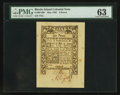 Colonial Notes:Rhode Island, Rhode Island May 1786 6d PMG Choice Uncirculated 63.. ...