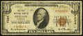 National Bank Notes:Wisconsin, Brillion, WI - $10 1929 Ty. 1 The First NB Ch. # 7224. ...