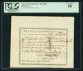 Colonial Notes:Connecticut, Connecticut Pay Table Office Certificate PCGS Very Fine 30.. ...