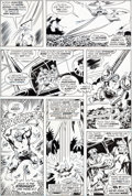 Original Comic Art:Panel Pages, Sal Buscema and Joe Staton Incredible Hulk #199 Page 14Original Art (Marvel, 1976)....