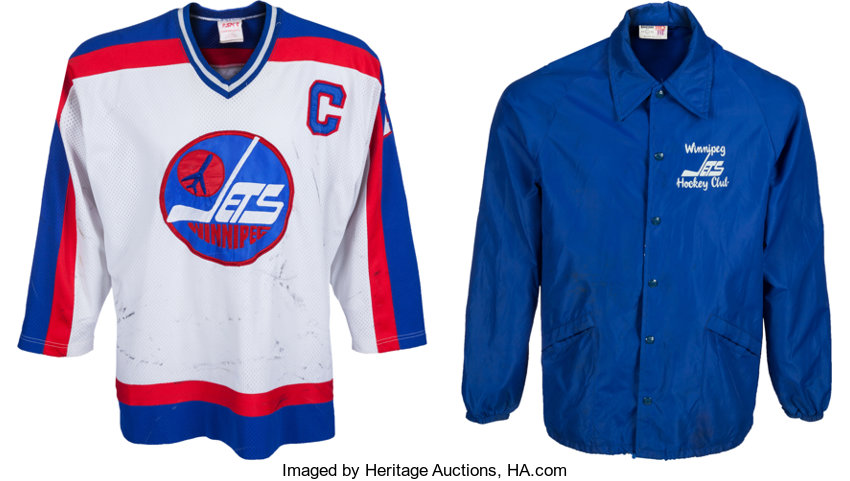 reputable site db792 9db58 1981-83 Dave Christian Game Worn Winnipeg Jets Jersey ...