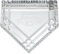 Baseball Collectibles:Others, 2009 Bobby Murcer New York Yankees World Series Champions Waterford Crystal Paperweight from The Bobby Murcer Collection. ...