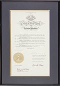 Baseball Collectibles:Others, 1983 Bobby Murcer Day Proclamation Signed by Mario Cuomo from TheBobby Murcer Collection. ...