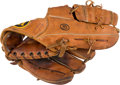 Baseball Collectibles:Others, 1960's Joe Morgan Game Used Fielder's Glove from The Bobby MurcerCollection....