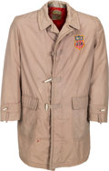 Olympic Collectibles:Autographs, 1960 Bill Christian Opening Ceremonies Hooded Jacket. ...