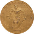 Hockey Collectibles:Others, 1960 Ice Hockey World Championships Gold Medal Presented to Bill Christian....