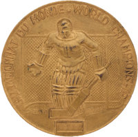1960 Ice Hockey World Championships Gold Medal Presented to Bill Christian