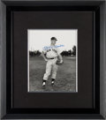 Baseball Collectibles:Photos, Mickey Mantle Signed Photograph from the Bobby MurcerCollection....