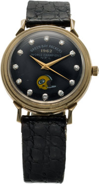 1962 Green Bay Packers NFL Championship Wristwatch Presented to Jerry Kramer