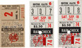 Autographs:Bats, 1965-70 Bobby Murcer Family Owned Ticket Stubs Lot of 3 from TheBobby Murcer Collection. ...
