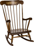 Baseball Collectibles:Others, Early 1970's Bobby Murcer Rocking Chair Gifted from Teammates fromThe Bobby Murcer Collection. ...