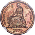Patterns, 1870 H10C Standard Silver Half Dime, Judd-811, Pollock-899, Low R.7, PR65 Brown NGC....