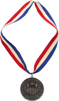 Hockey Collectibles:Others, 1978 Dave Christian National Sports Festival Silver Medal....
