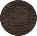 Olympic Collectibles:Autographs, 1964 Bill Christian Innsbruck Winter Olympics Participation Medal....