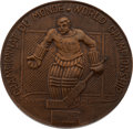 Olympic Collectibles:Autographs, 1962 Bill Christian World Championship Bronze Medal. ...