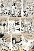 Original Comic Art:Panel Pages, George Perez and Pablo Marcos Avengers #168 Issue Page 10(Original Art (Marvel, 1978)....
