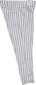 Baseball Collectibles:Uniforms, 1999 Bobby Murcer Game Worn New York Yankees Old-Timers' Day Pantsfrom The Bobby Murcer Collection. ...