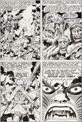 Original Comic Art:Panel Pages, Jack Kirby and Mike Royer 2001: A Space Odyssey #2 Page 7Original Art (Marvel, 1977)....