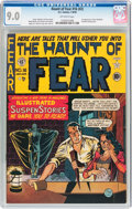 Golden Age (1938-1955):Horror, Haunt of Fear #16 (#2) (EC, 1950) CGC VF/NM 9.0 Off-white pages....