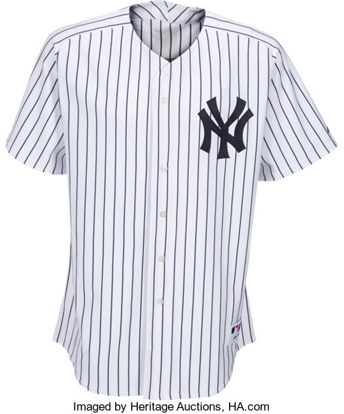size 40 104e1 a1c1c 2005 Bernie Williams Game Issued Signed New York Yankees ...