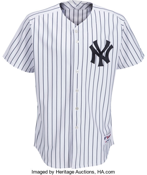 c4bb86109 2005 Mariano Rivera Game Issued Signed New York Yankees Jersey