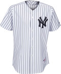 Baseball Collectibles:Uniforms, 2005 Alex Rodriguez Game Issued Signed New York Yankees Jersey from The Bobby Murcer Collection. ...