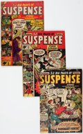Golden Age (1938-1955):Horror, Suspense #5, 6, and 8 Group (Atlas, 1950-51) Condition: AverageGD.... (Total: 3 Comic Books)