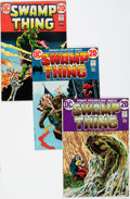 Bronze Age (1970-1979):Horror, Swamp Thing Group of 12 (DC, 1972-82) Condition: Average FN+....(Total: 12 Comic Books)