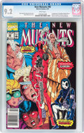 Modern Age (1980-Present):Superhero, The New Mutants #98 (Marvel, 1991) CGC NM- 9.2 White pages....