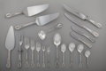 Silver Flatware, American:Wallace , A Ninety-Four Piece Wallace Rose Point Pattern SilverFlatware Service for Twelve with Associated Grand Baro...(Total: 100 Items)