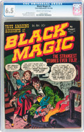 Golden Age (1938-1955):Horror, Black Magic #1 (Prize, 1950) CGC FN+ 6.5 Cream to off-whitepages....
