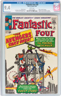 Silver Age (1956-1969):Superhero, Fantastic Four #26 (Marvel, 1964) CGC NM 9.4 White pages....