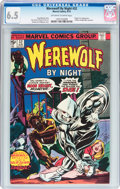 Bronze Age (1970-1979):Horror, Werewolf by Night #32 (Marvel, 1975) CGC FN+ 6.5 Off-white to whitepages....