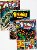 Bronze Age (1970-1979):Horror, Werewolf by Night Group of 22 (Marvel, 1973-77) Condition: AverageVF/NM.... (Total: 22 Comic Books)