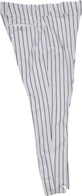Baseball Collectibles:Uniforms, 2006 Bobby Murcer Game Worn New York Yankees Old-Timers' Day Pants from The Bobby Murcer Collection. ...